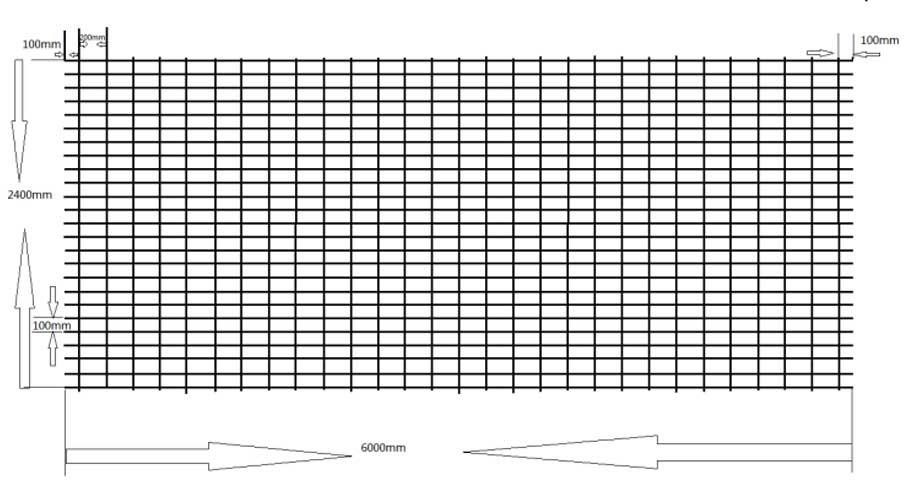 SE92/SE82/SE72/SE62 concrete reinforcing mesh for structural using
