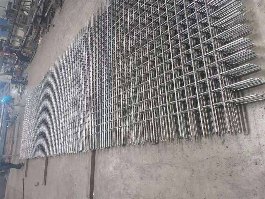 Special concrete reinforcing mesh
