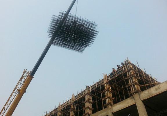 Reinforced steel mesh
