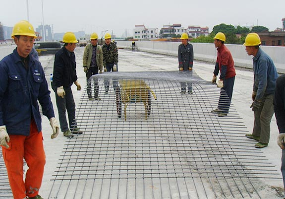 Reinforced mesh for highway and brige of Henan province