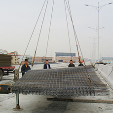 Reinforcing steel mesh for highway and brige of Zhejiang province