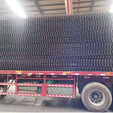 Heyou Wire Mesh delivery the reinforcing steel mesh at Heyou factory