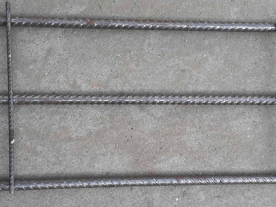 Slab mesh reinforcement for footing slab,beam and piers